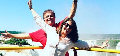 Sonia Lima e Wagner Montem eram casados desde 1987; o apresentador morreu em janeiro deste ano