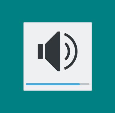 USBヘッドセットのリモコンから音量を変更すると、デスクトップにアイコンが表示されます。