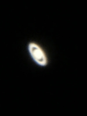 Saturn through the big 'scope