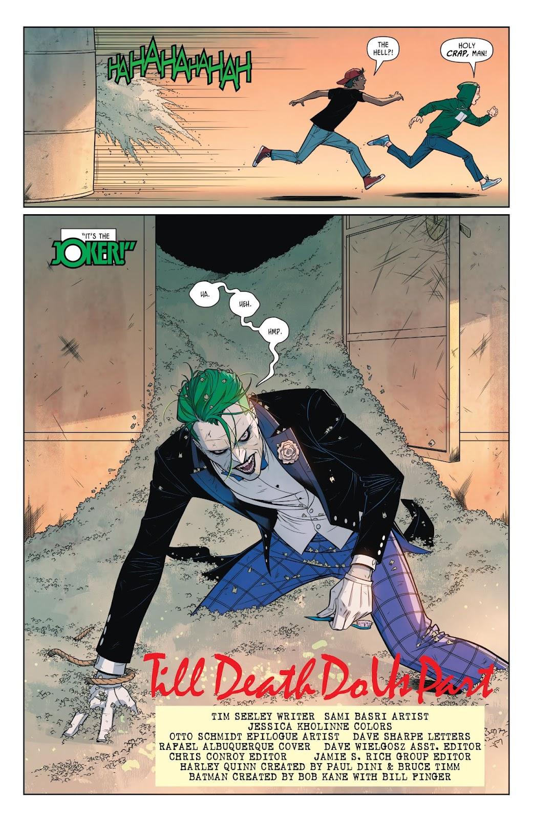 Read online Batman: Prelude to the Wedding: Harley Quinn vs. Joker comic -  Issue # Full - 4