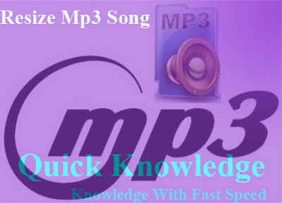 How to Resize MP3 Song