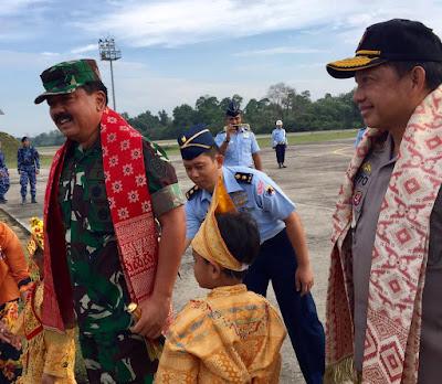 Hari Ini, Panglima TNI dan Kapolri Kunjungan Kerja ke Pekanbaru