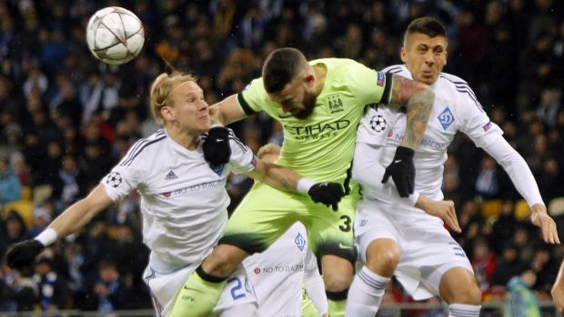 Manchester City vs Dynamo Kiev
