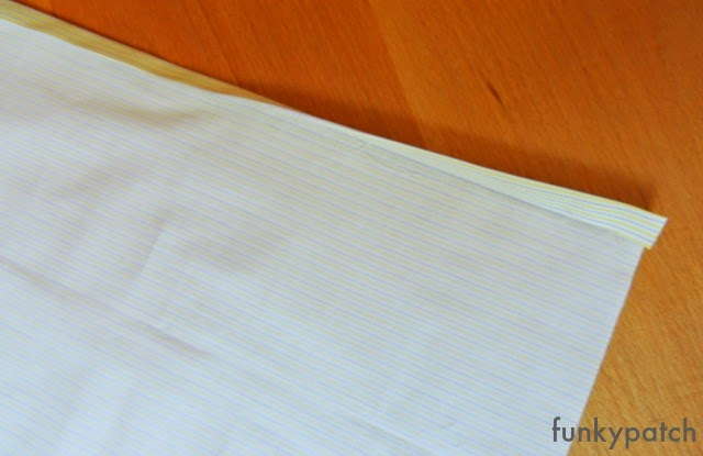 como hacer una funda de cojín sin cremallera