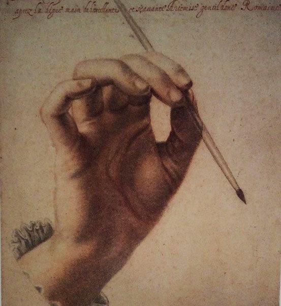 mao artemisia gentileschi - Artemisia Gentileschi - os pintores caravaggescos