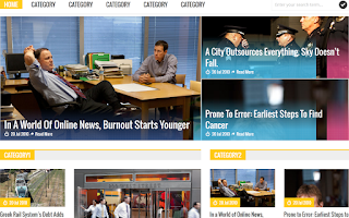 Simplex Magazine 2 Blogger Template