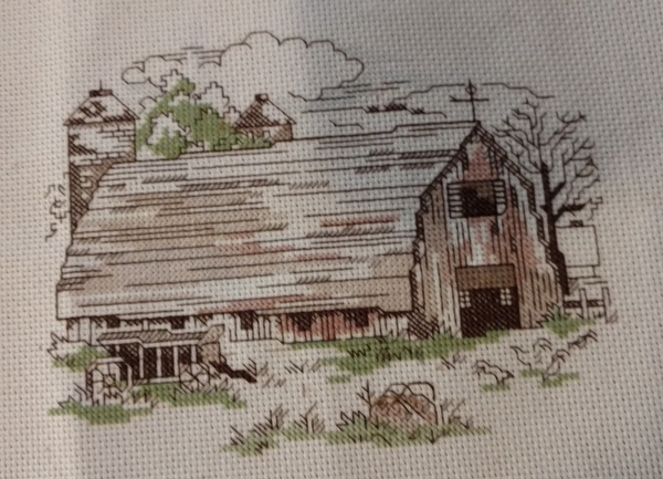 Midwest Barn - Cross Stitch & Country Crafts Sept/Oct 1992