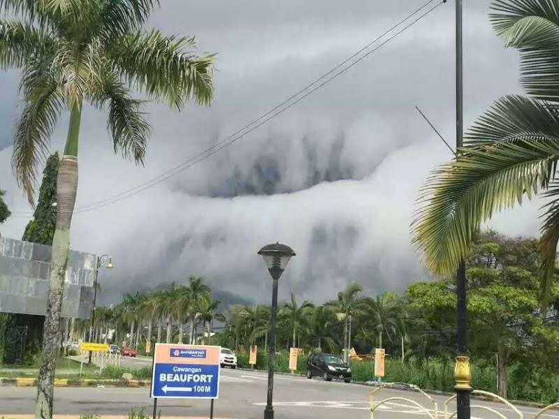 Awan Luarbiasa di Langit Beaufort, Sabah