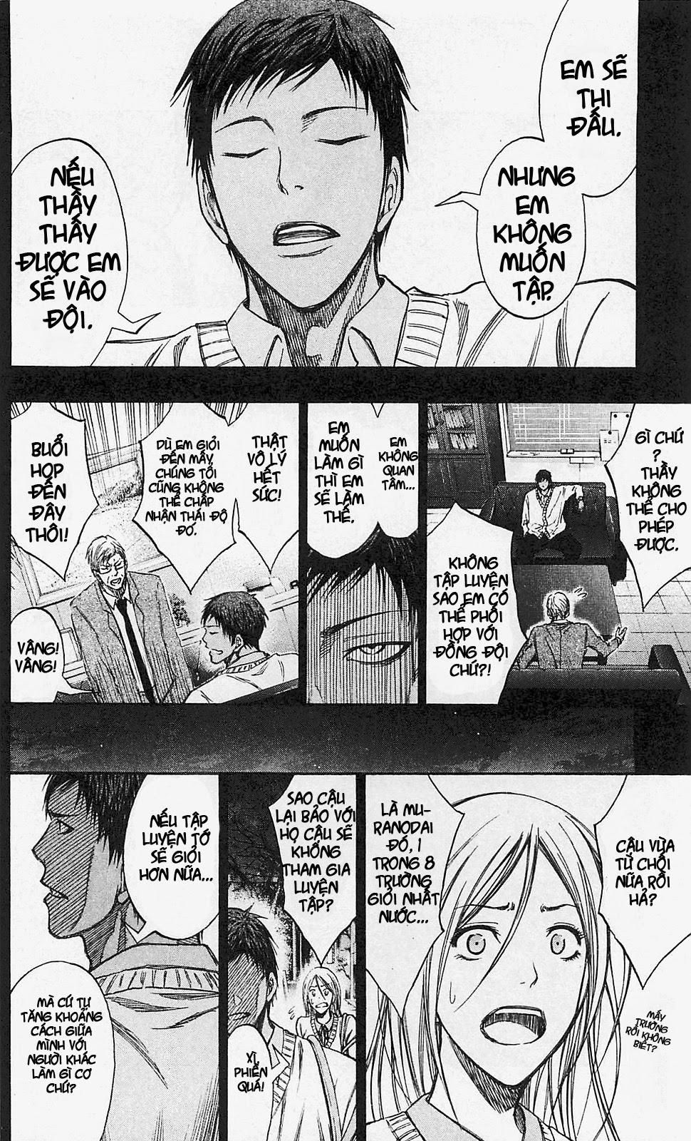 Kuroko No Basket chap 134 trang 8