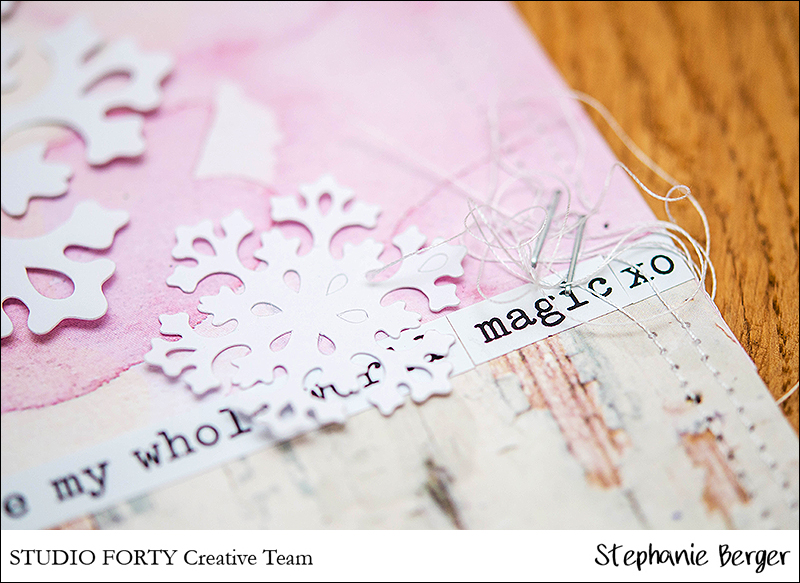 Stephanie Berger - Scrapbooking - StudioForty- Winterwonderland