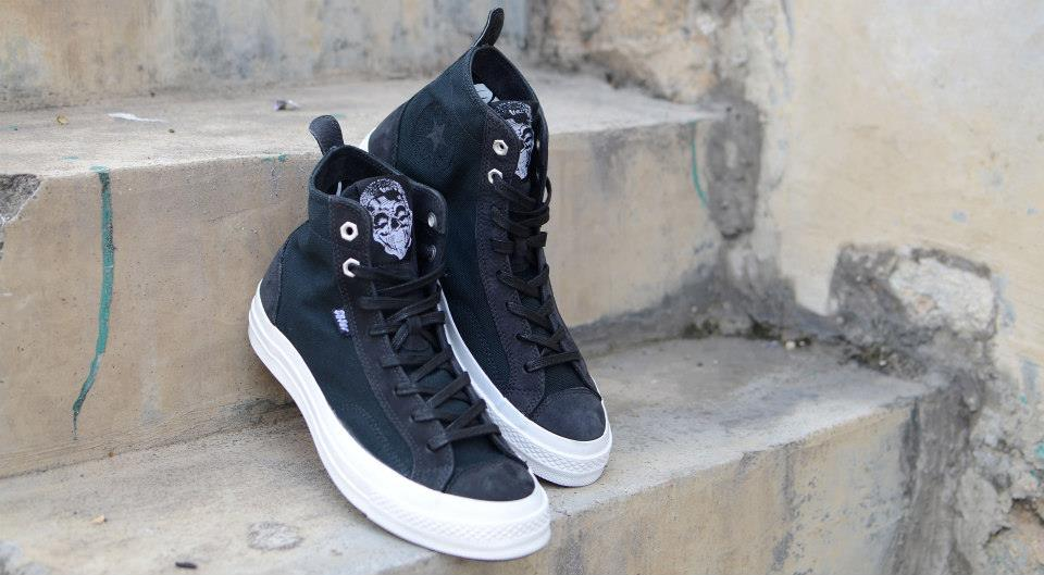 sale retailer 4209f 19fb7 Converse proudly marks its first ever collaboration with LA graffiti artist  Chaz Bojorquez. Reflecting furtive nature of Bojorquez s work, the shoes  feature ...
