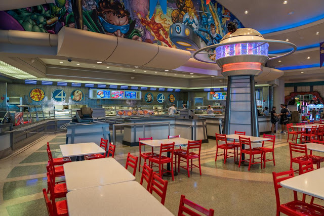 Restaurante Cafe 4 Universal
