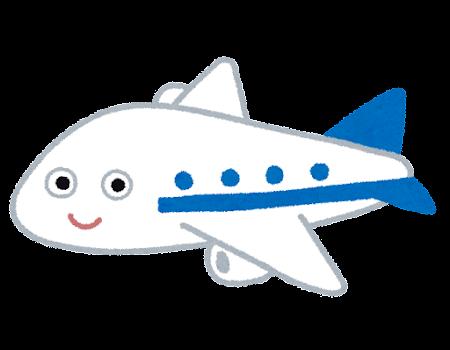 飛行機のキャラクター