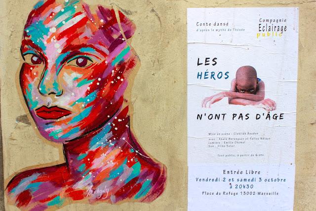 A spasso per il Panier a Marsiglia - foto di Elisa Chisana Hoshi