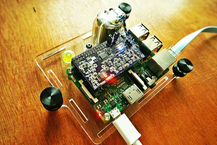 Raspberry Shake sismógrafo