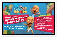 Karnival Upin & Ipin 2012 - Johor Bahru