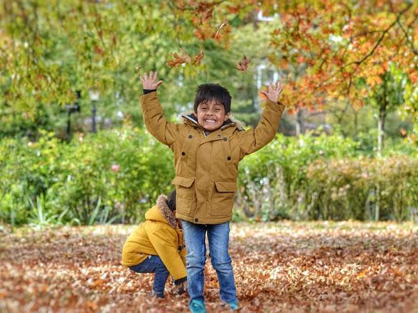 Autumn walk in Regent's Park
