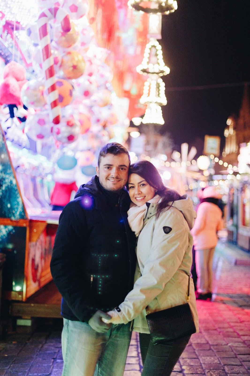 Christine and Fabio Stawinski   Christmas Light 2018