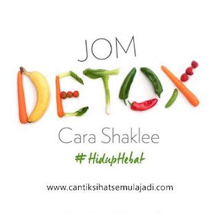 Set Detox Shaklee | Perbezaan, Kelebihan dan Manfaat Detoks