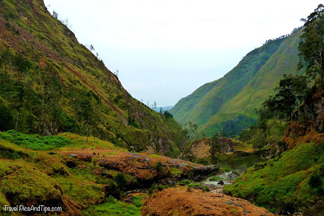Hot spring, Trekking mount Rinjani Indonesia