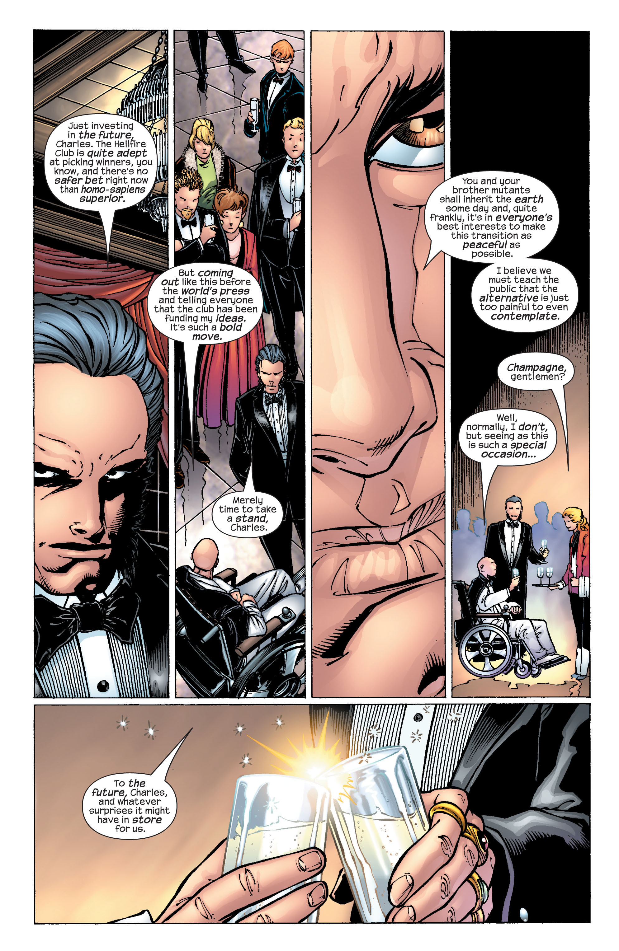 Read online Ultimate X-Men comic -  Issue #25 - 9
