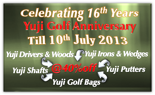 Celebrating Our 16th Anniversary | Yuji Golf Singapore