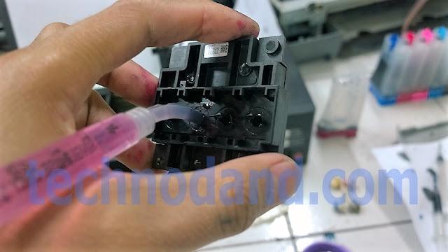 Printer Epson L series L110 L210 L300 L310 Tinta Tidak Keluar Sama Sekali