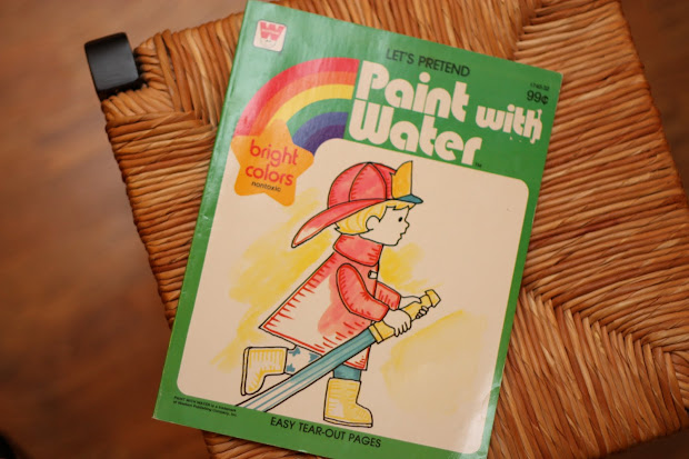 """Diy """"paint With Water"""" Pages - Teach Child"""