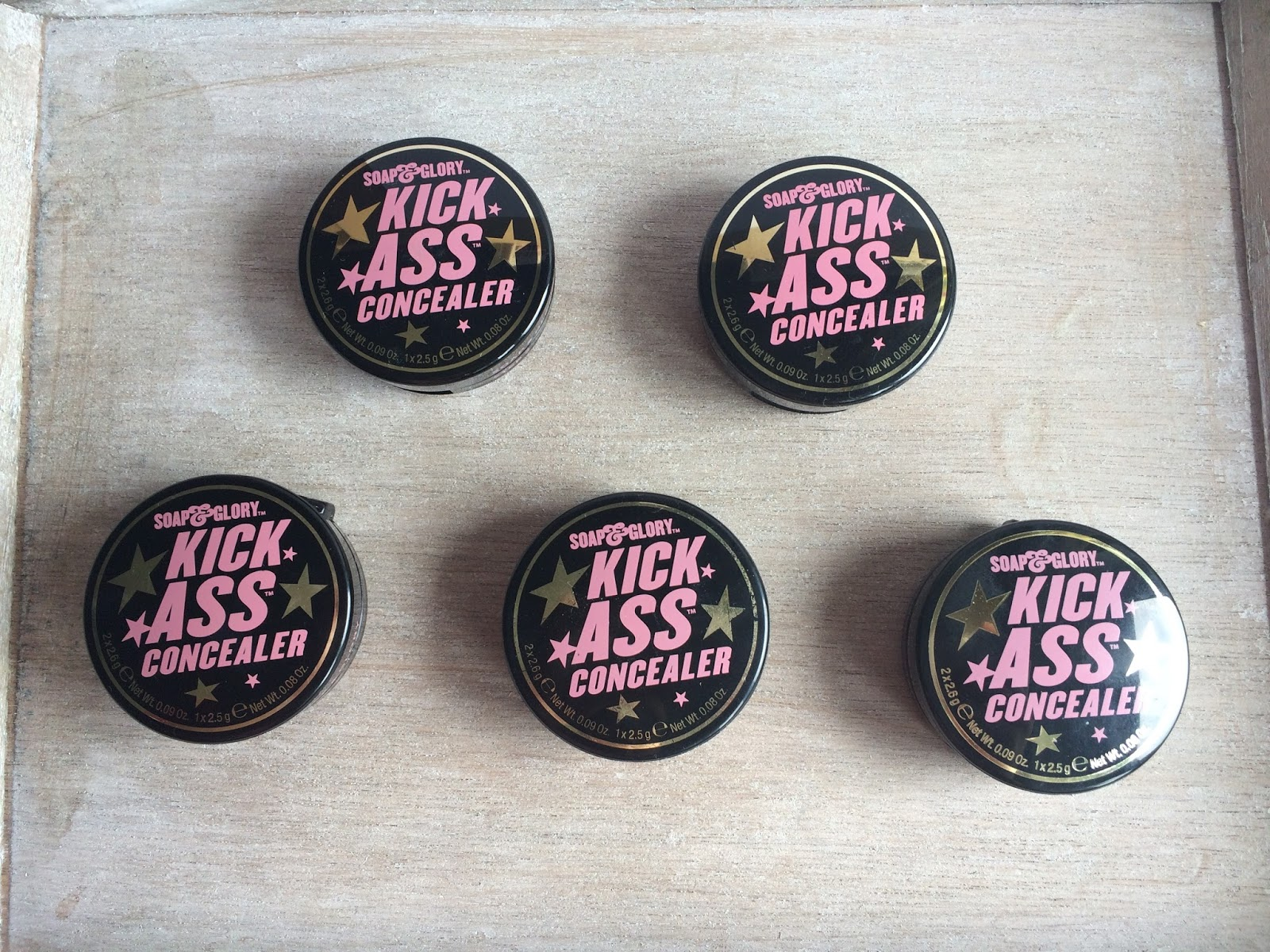Soap and Glory Kick Ass Concealer Best Concealer Ever Review