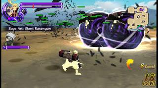Game Naruto Ninja Storm 4 PPSSPP