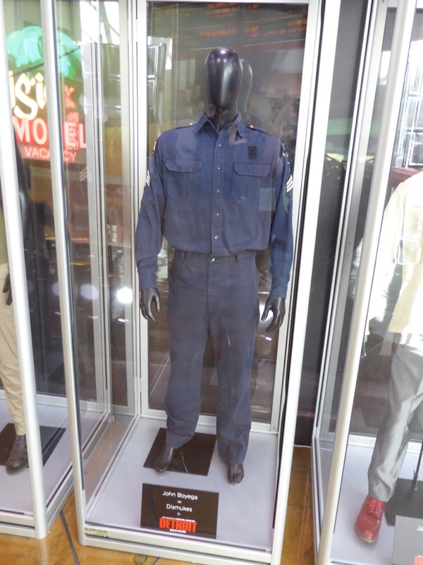 Dismukes Detroit security guard costume
