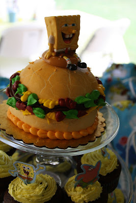 Cynde S Place Sponge Bob Birthday Party