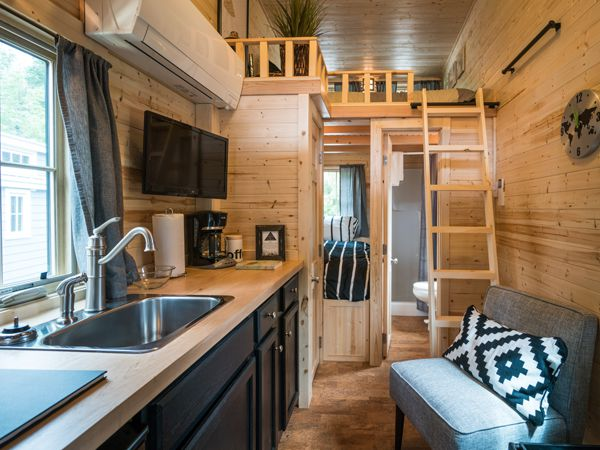 Atticus tiny house at Mt. Hood Village Resort in Oregon