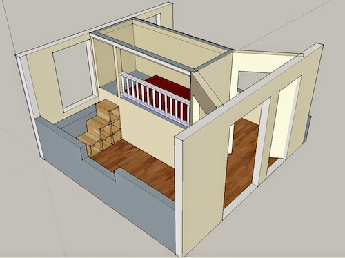 Ashbee design extreme bunk beds thinking outside the box for Box room bedroom ideas