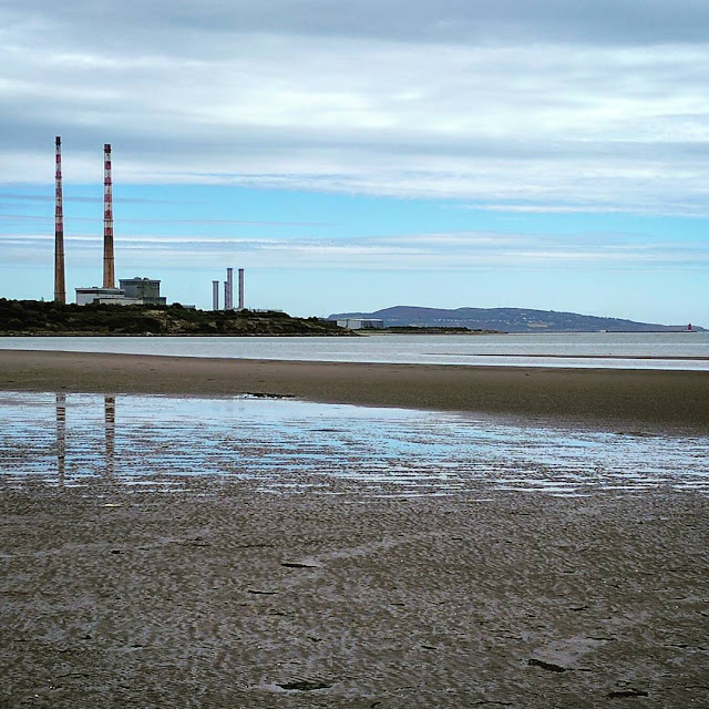 Days out in Dublin: Sandymount Strand and views of Poolbeg towers