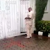 Lobatan! Watch video of man strip naked in front of his debtors house because he wants his money...