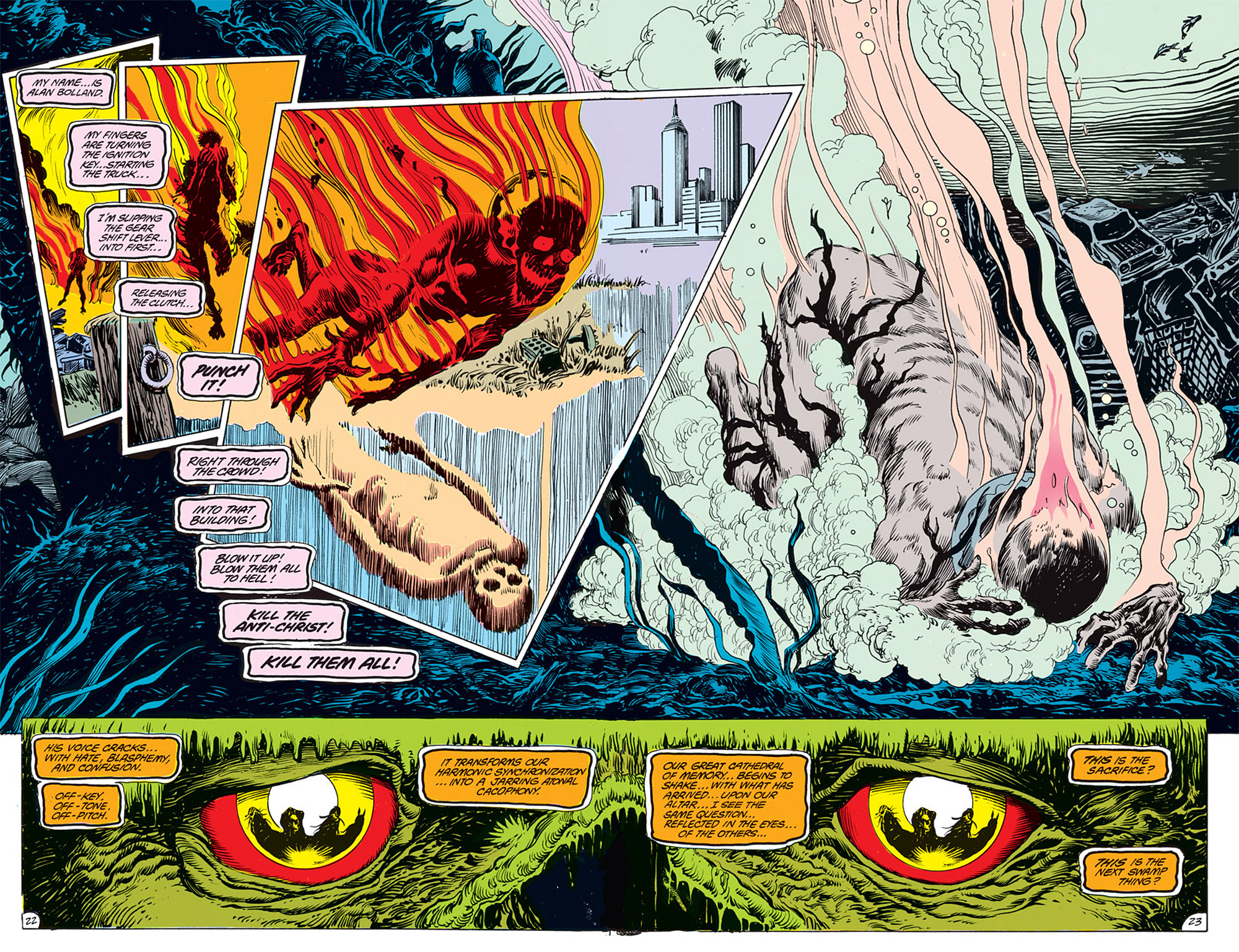 Swamp Thing (1982) Issue #68 #76 - English 18