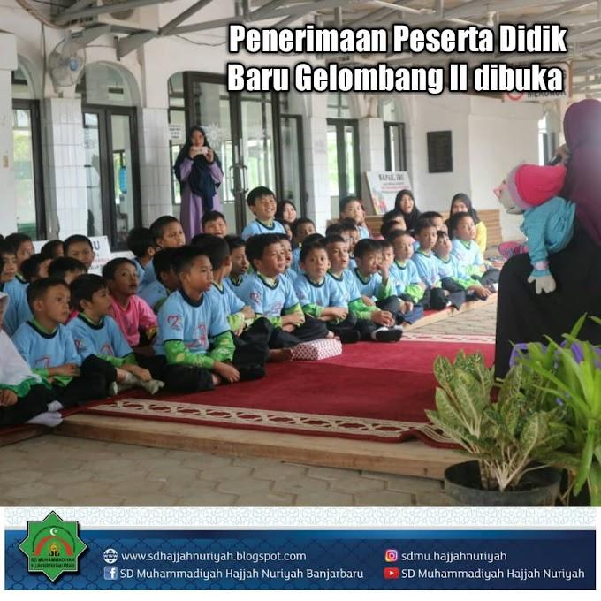 PPDB Gelombang II hingga 30 April 2019