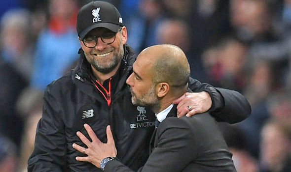 Guardiola, Klopp