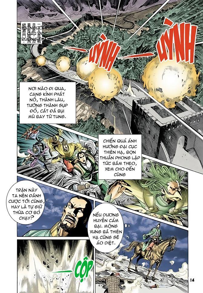 Đại Đường Uy Long chapter 64 trang 13