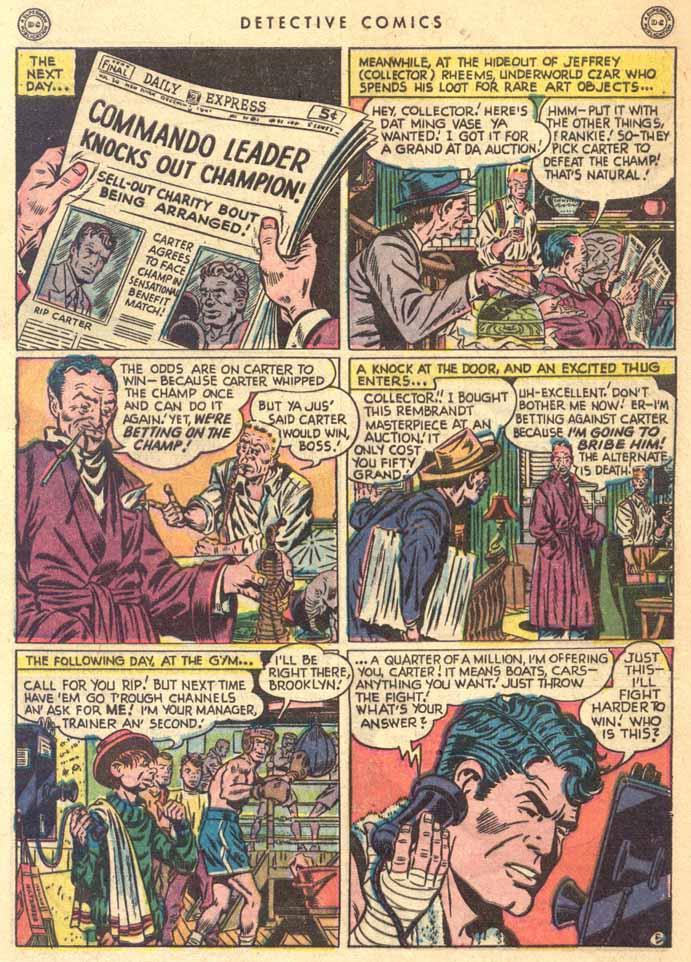 Read online Detective Comics (1937) comic -  Issue #147 - 40