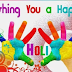 Happy Holi Whatsapp Facebook Status in Hindi and English holi wallpaper