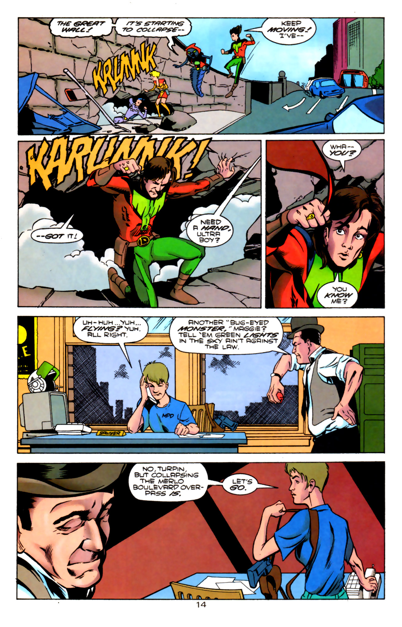 Legion of Super-Heroes (1989) 85 Page 13