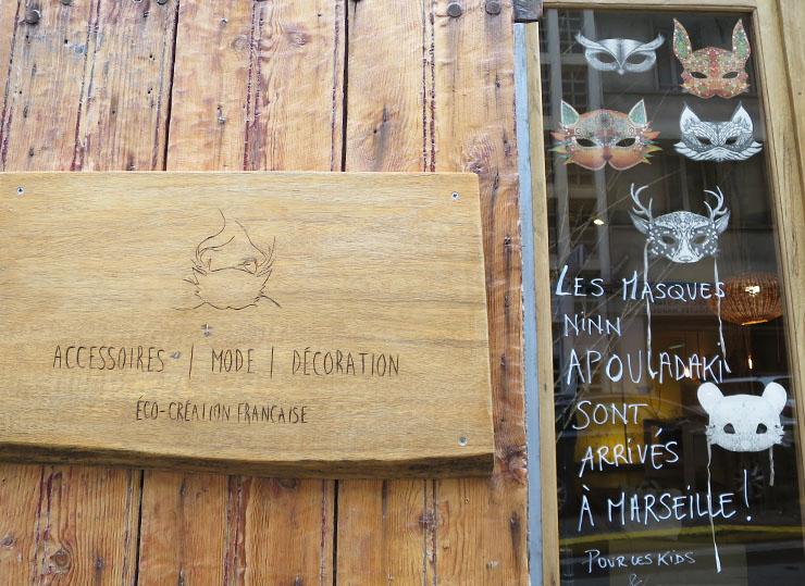 Ninn Apouladaki créateurs - Marseille