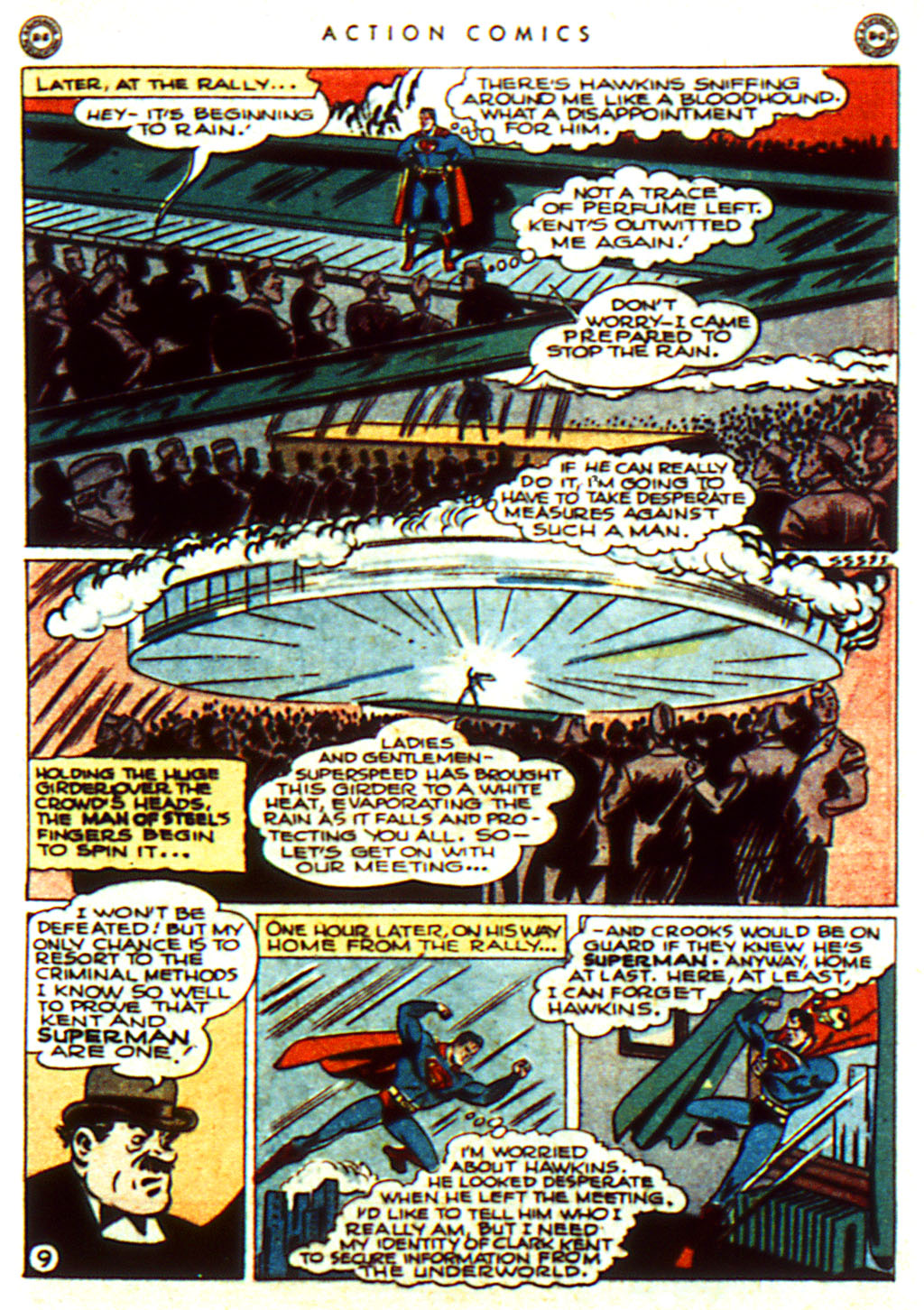 Read online Action Comics (1938) comic -  Issue #100 - 11