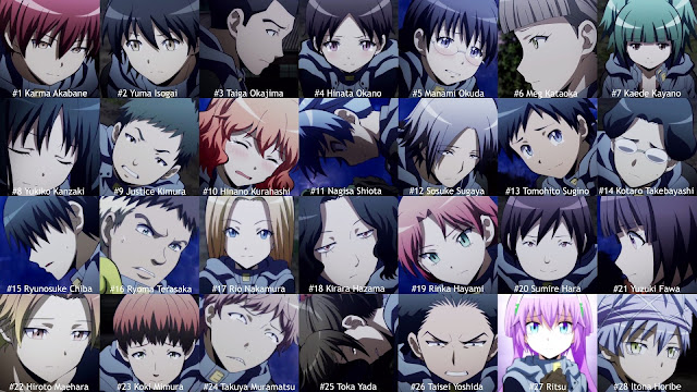 assassination classroom personnages