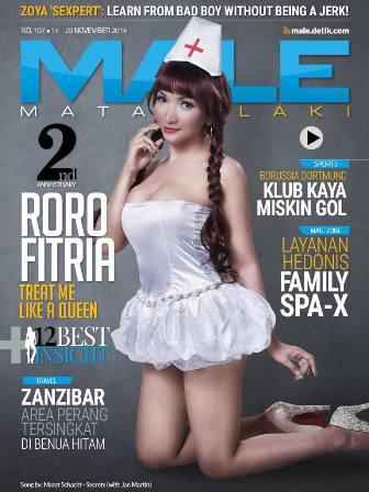 Download Gratis Majalah MALE Mata Lelaki Edisi 107 Cover Model Roro Fitria | MALE Mata Lelaki 107 Indonesia | Cover MALE 107 Baby Roro Fitria | www.insight-zone.com