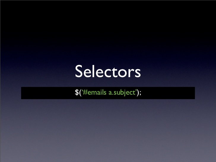 10 Example of jQuery Selectors for Web Developers   Java67