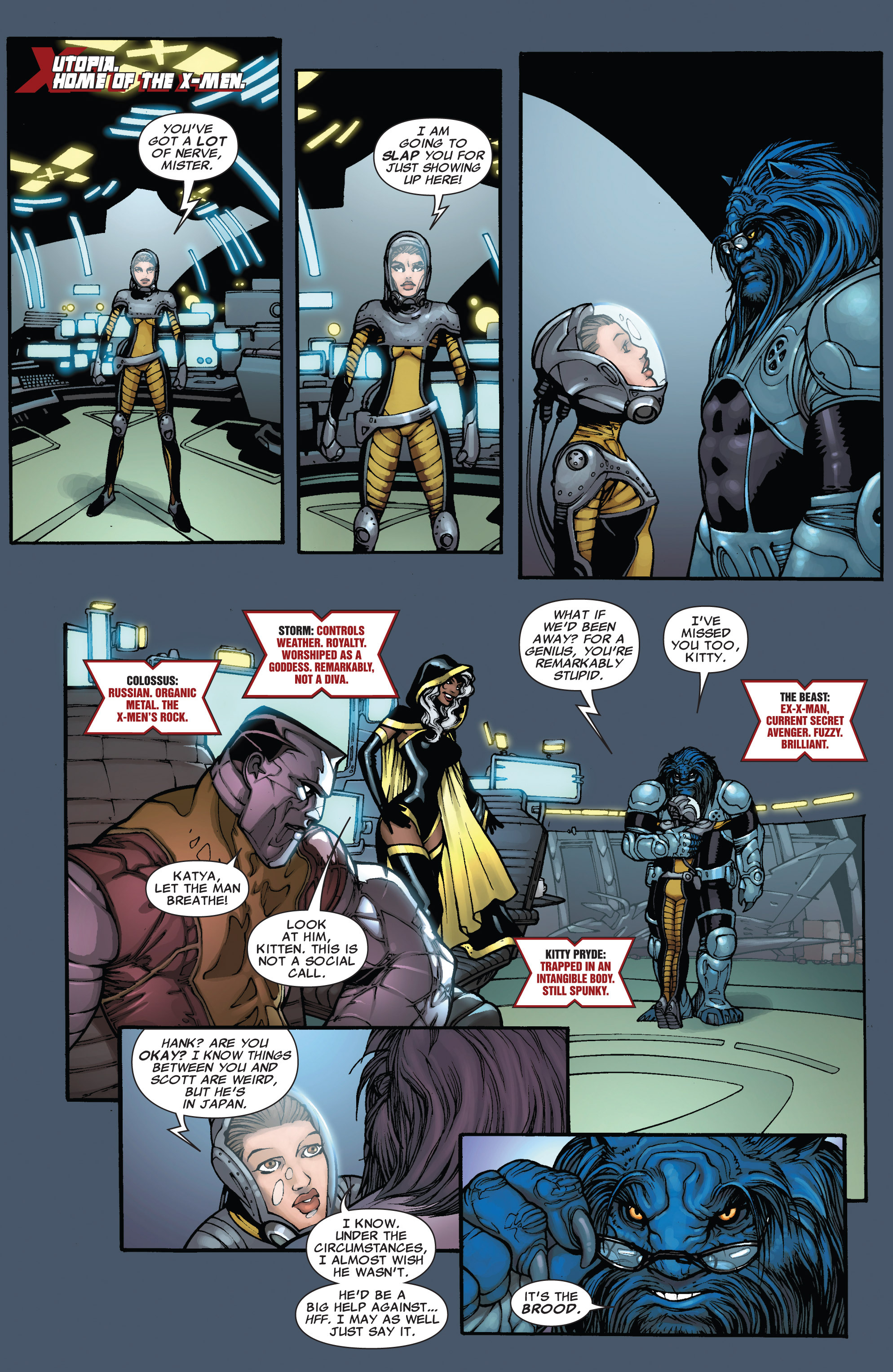 Read online Astonishing X-Men (2004) comic -  Issue #38 - 6