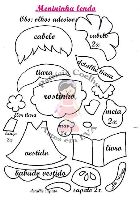 Capa De Caderno De Eva Com Molde Para Imprimir Como Fazer